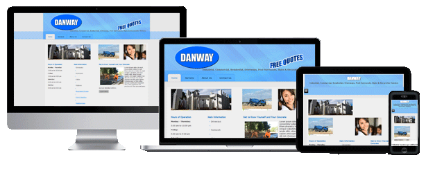 Tradies Sites builds responsive business websites so that your website displays correctly on all desktop and mobile devices